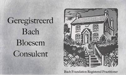 Bach Bloesem plaat bewerkt